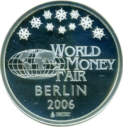 Token - World Money Fair Berlin 2006 (Aurora Borealis) -  obverse