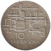 10 Markkaa (Independence) -  reverse