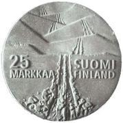 25 Markkaa (Lahti) -  reverse