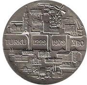 25 Markkaa (750th Anniversary of Turku) -  obverse
