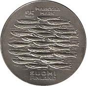 25 Markkaa (750th Anniversary of Turku) -  reverse