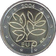 2 Euro (Enlargement of the EU) – obverse
