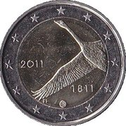 2 Euro (200 Years of Finland National Bank) -  obverse