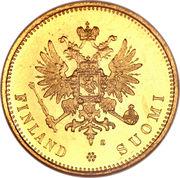 20 Markkaa - Aleksandr II / Nikolai II – obverse