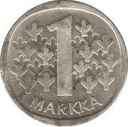 1 Markka -  reverse