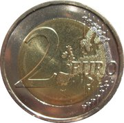 2 Euro (10 Years of EMU) – reverse