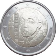 2 Euro (Helene Schjerfbeck) – obverse