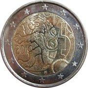 2 Euro (Rahapaja - Markka) – obverse