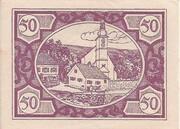50 Heller (Fischlham) -  reverse