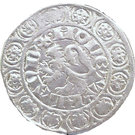 Dubbele Groot - Louis II (de Male) – reverse