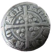 Sterling - Robrecht III of Flanders – reverse