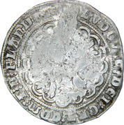 ½ Groot - Louis II – reverse