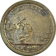 Medal - First Schleswig War (Battle of Bov, Flensburg) – obverse
