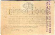 1 Gold Pfennig (Flensburger Goldmarkgesellschaft) – reverse