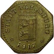 10 Pfennig - Flensburg – obverse