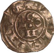 Denier ou Guillelmin de Guillaume V de Sabran-Comté de Forcalquier-Provence. – obverse
