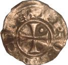 Denier ou Guillelmin de Guillaume V de Sabran-Comté de Forcalquier-Provence. – reverse