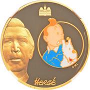 50 Euro (Tintin and Snowy) – obverse