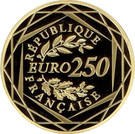 250 Euro (Marianne liberty) – reverse