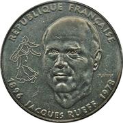 1 Franc (Jacques Rueff) -  obverse