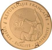 50 Euro (Judo) – obverse
