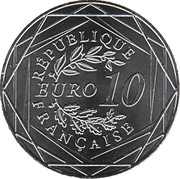10 Euro (The Great War) – obverse