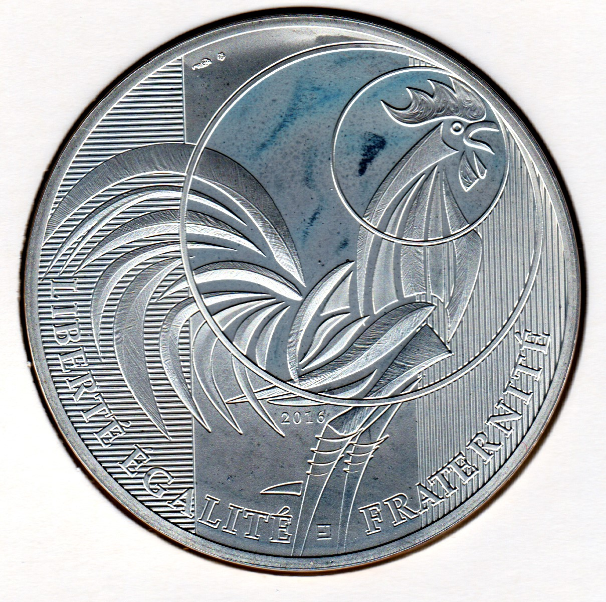 """2016 France 2 Euro Uncirculated Coin /""""Francois Mitterrand 100 Years/"""""""