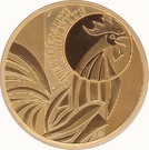 1000 Euro (Rooster) – obverse