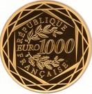 1000 Euro (Marianne) – reverse