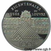 100 Francs (sacre de Napoléon I) – reverse