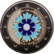 2 Euro (Bleuet de France; Colored) -  obverse