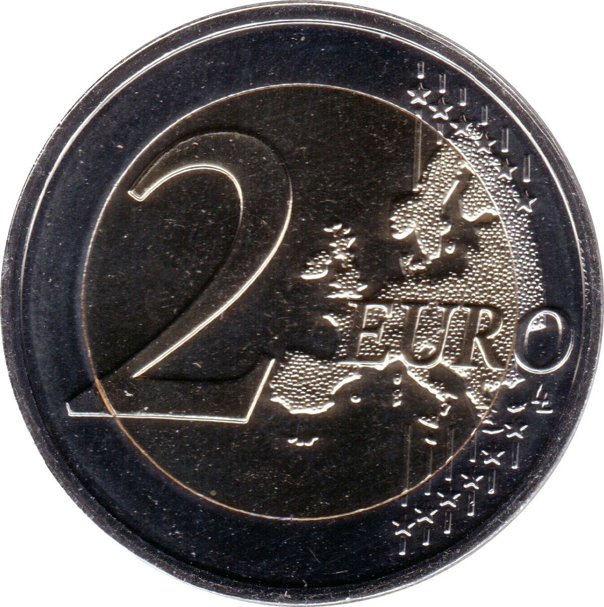 2 Euro Bleuet De France Colored France Numista