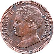 3 Centimes - Napoléon II (Essai) -  obverse