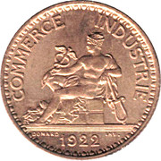 1 Franc (Chambers of Commerce) -  obverse