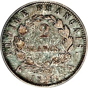 2 Francs - Napoléon I – reverse