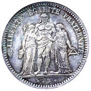 5 Francs (Hercule, 2nd republic) -  reverse