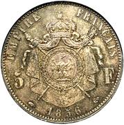 5 Francs - Napoleon III -  obverse