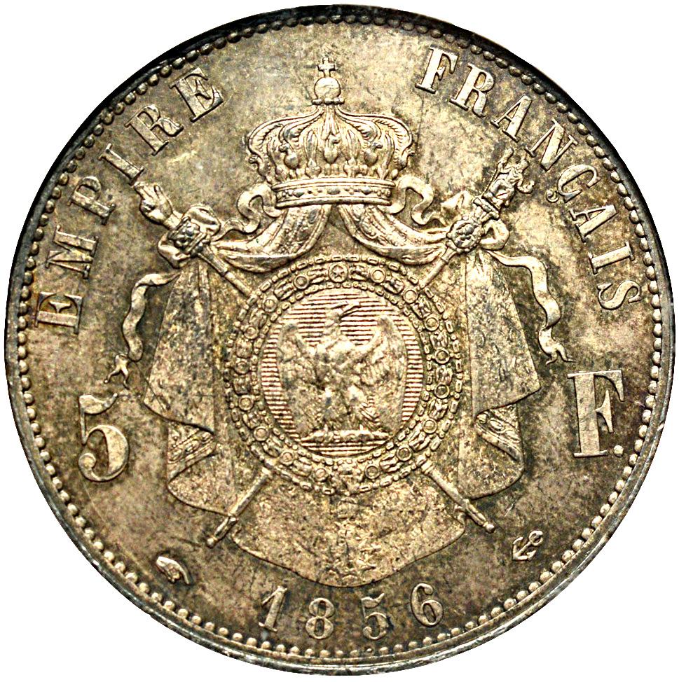 5 Francs - Napoleon III - France - Modern – Numista