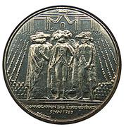 1 Franc (Estates General) -  reverse