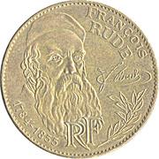 10 Francs (François Rude) -  obverse