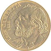 10 Francs (Leon Gambetta) -  obverse