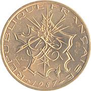 10 Francs Mathieu -  obverse