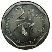 2 Francs (Georges Guynemer) -  reverse