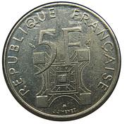 5 Francs (Eiffel Tower) -  obverse