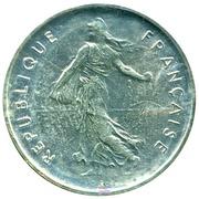 5 Francs Semeuse - PIÉFORT -  obverse