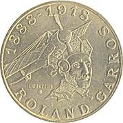 10 Francs (Roland Garros) -  obverse