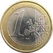 1 Euro (1st map) -  reverse