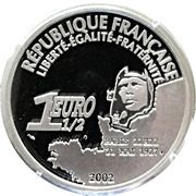 1½ Euro (Spirit of St. Louis) – obverse