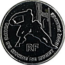 ¼ Euro (Rugby World Cup) – obverse
