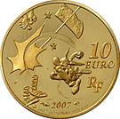 10 Euro (Asterix) – reverse